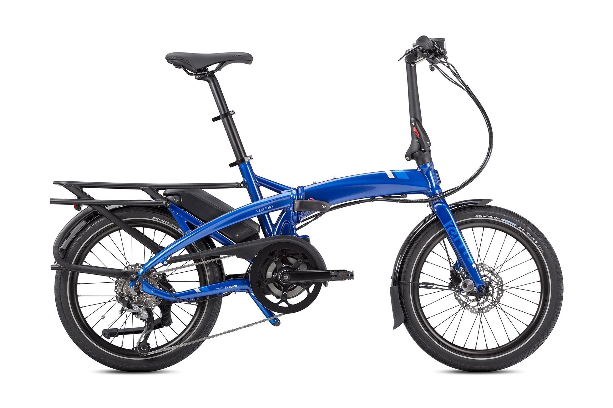 TERN VEKTRON Q9  Blue - 400 Wh